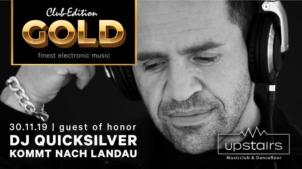 DJ Quicksilver kommt